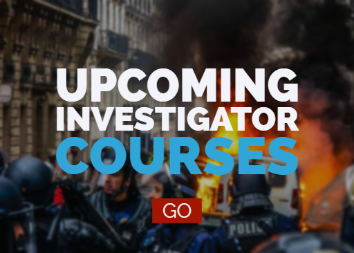 View upcoming investigator courses.
